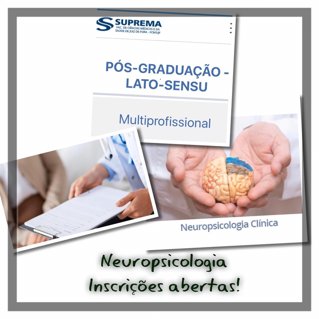 Pós-Graduação em Neuropsicologia Clínica
